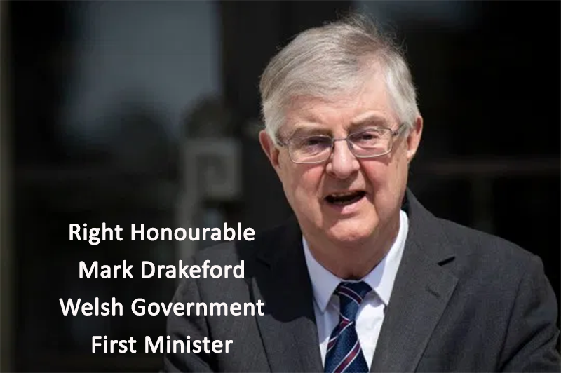 F.O.I. Letter Enquiry to First Minister Mark Drakeford