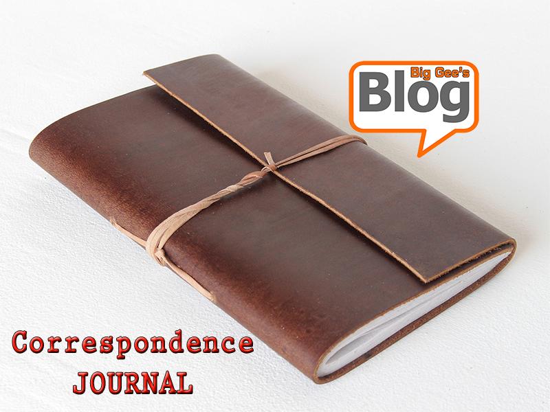 A Running Journal of Written Correspondence
