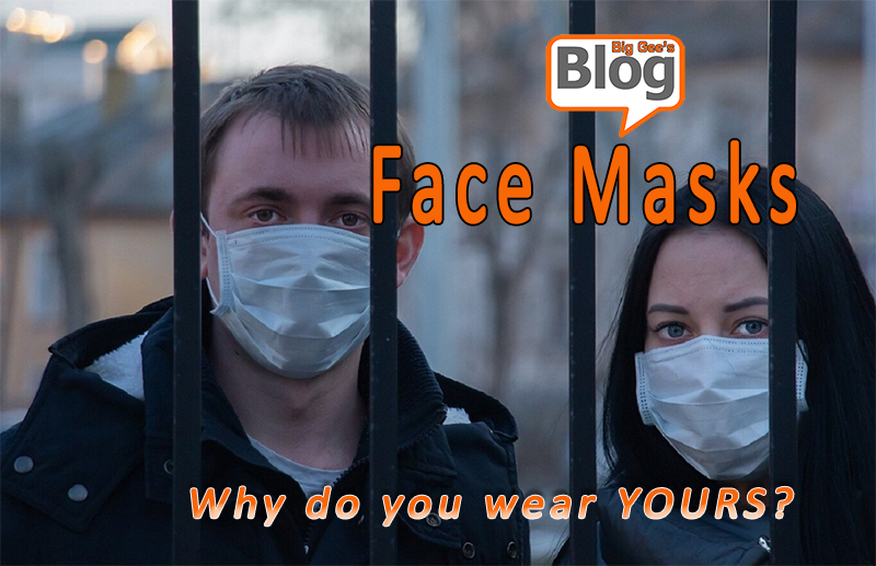 The Face Mask Phenomenon –  Three Reasons For Wearing Them