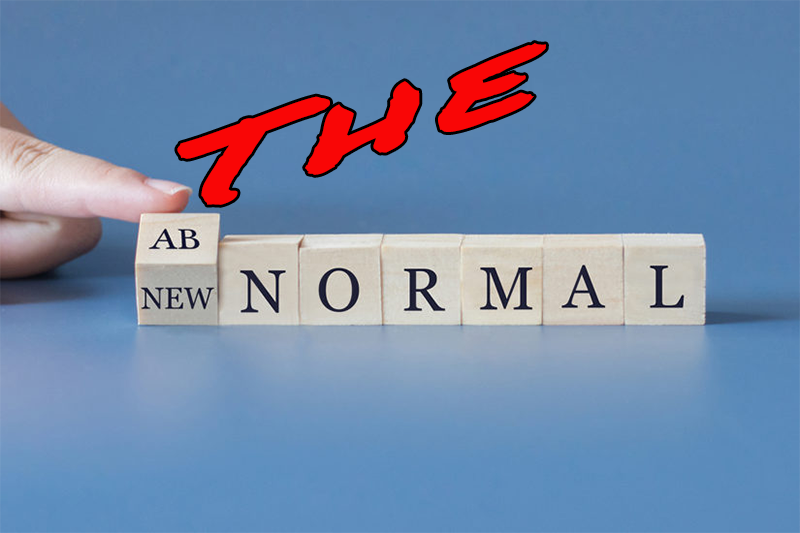 The New Normal – What's Happened – What's GOING To Happen?