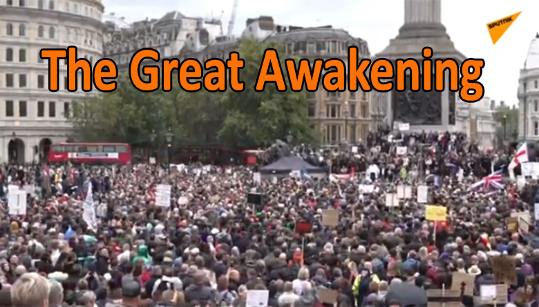 London Protest 29/08/2020 – LIVE STREAM