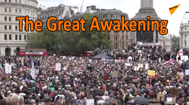 London Protest 29/08/2020 – LIVE STREAM