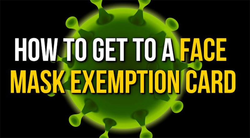 Exemption From Face Covering