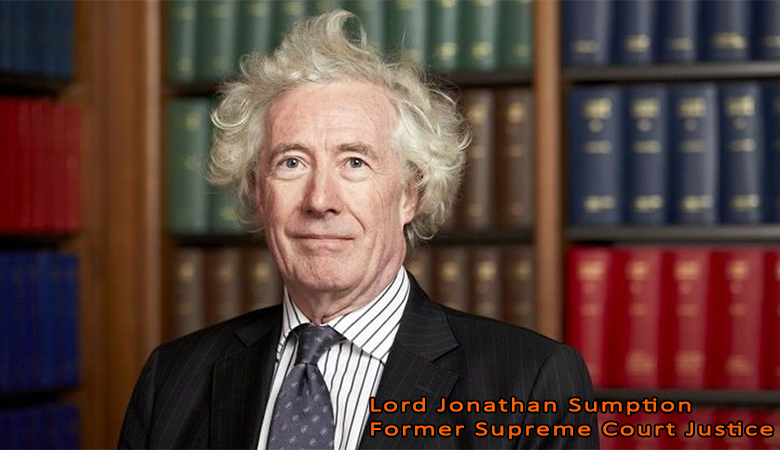Lord Sumption: Boris Johnson's 'Rule of Six is Pointless, Arbitrary and Unnecessary'