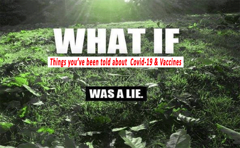 You Are Being Lied To . . .