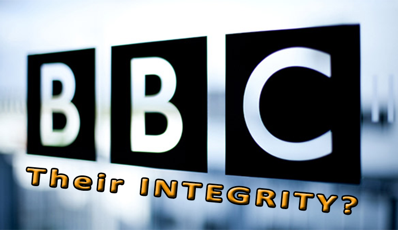 Journalistic Integrity at the BBC (Open Letter to Director General and Editor in Chief, BBC Broadcasting House)